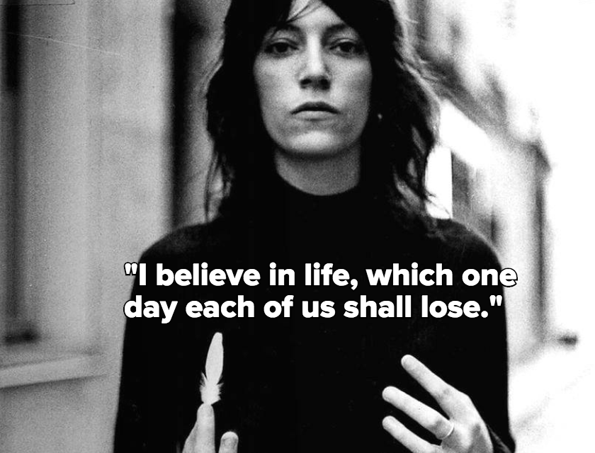 Patti Smith's Quirky 'M Train' Captures How to Stay Graceful in the Face of Grief