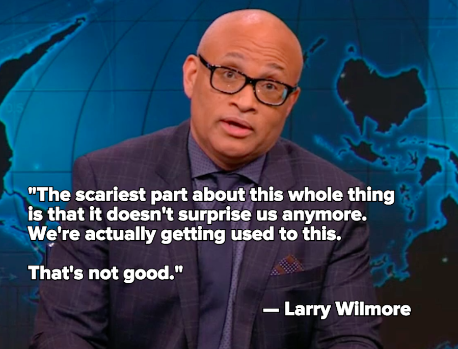 Larry Wilmore Sounds Off on the Epidemic of Gun Violence in the US