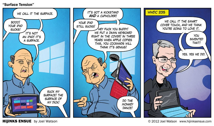 This Scarily Accurate Comic Predicted Apple's iPad Pro Release 3 Years Ago