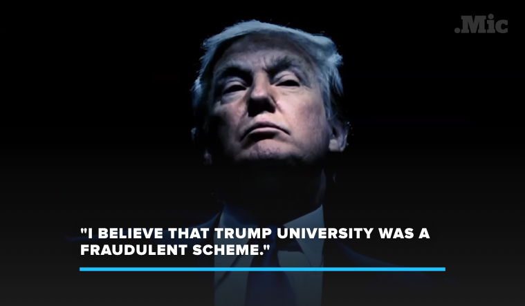 "Trump University Is a ""Fraudulent Scheme,""Says Former Employee"