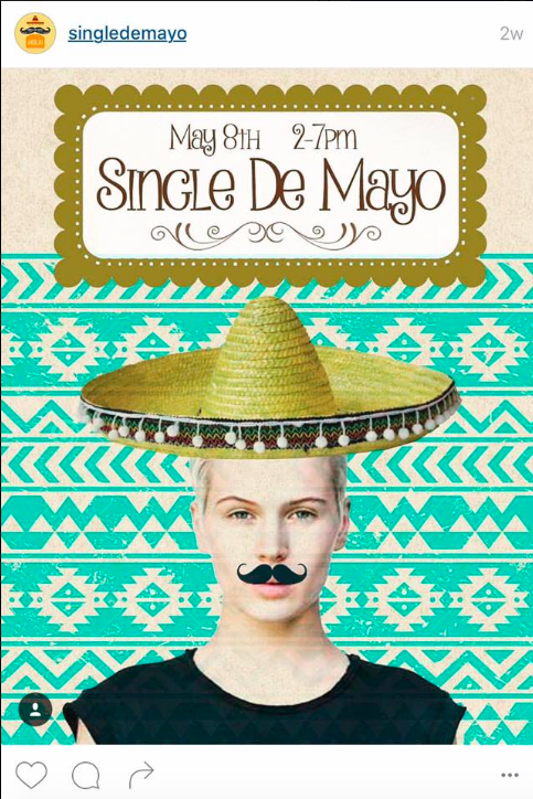 "Mexican-Themed Lesbian ""Single de Mayo"" Instagram Pics Have Pissed Off a Lot of People"