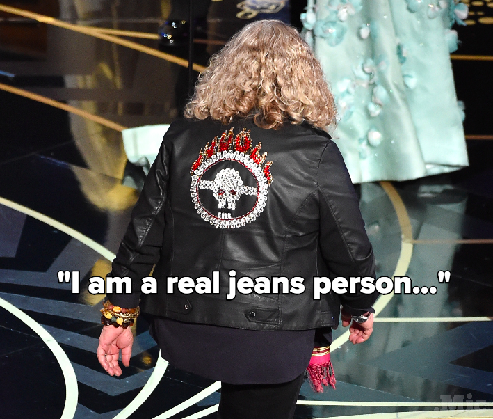 Jenny Beavan Has Spoken About That Jacket, and She's Officially a Fashion Hero