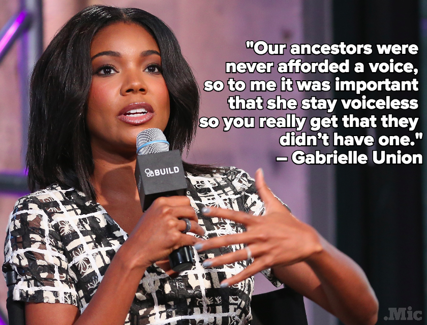 The Powerful Reason Gabrielle Union Has No Lines in Sundance Hit 'The Birth of a Nation'