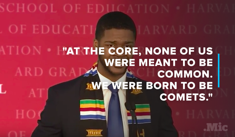 This Harvard Grad's Powerful Commencement Speech Is Something Everyone Should Hear