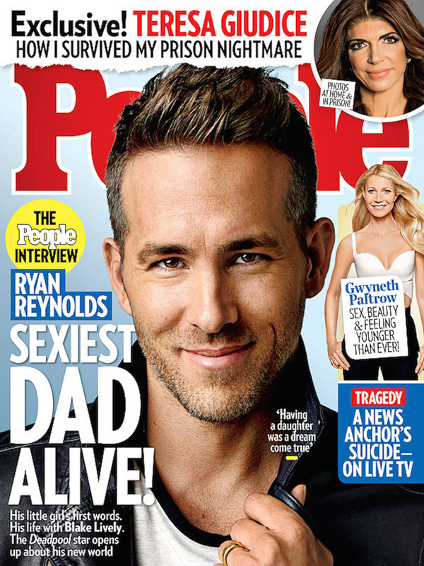 "There's a Double Standard at Play With the 'People' ""Sexiest Dad Alive"" Cover"