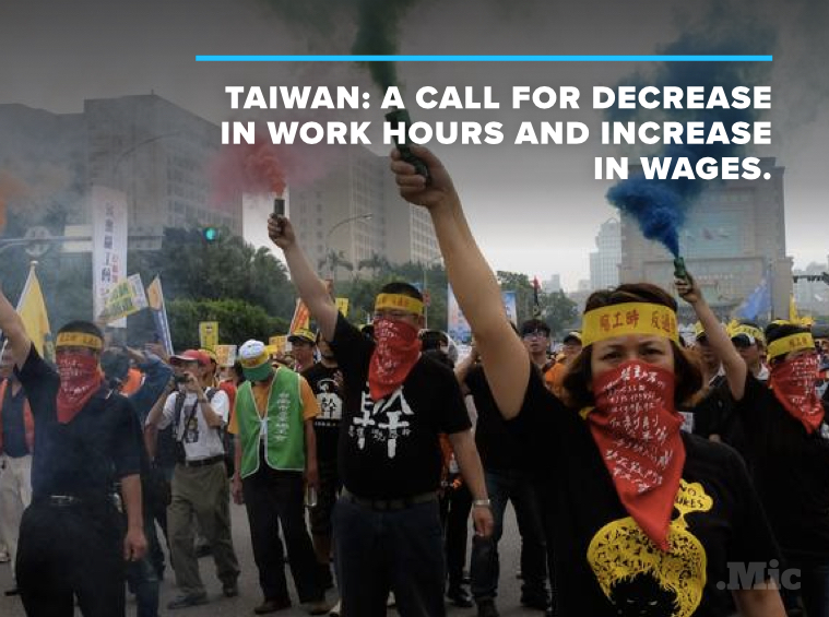 9 Images Capture the Anti-Capitalism May Day Protests You Didn't Hear About