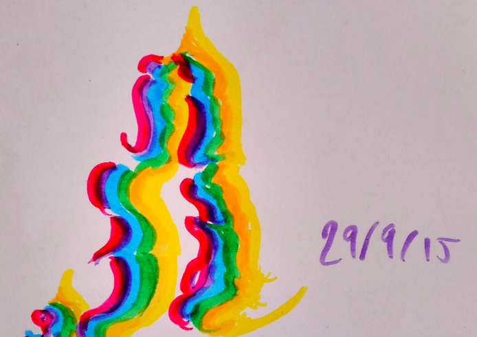 Women on Tumblr Are Making Beautiful Art Inspired by Their Vaginal Discharge