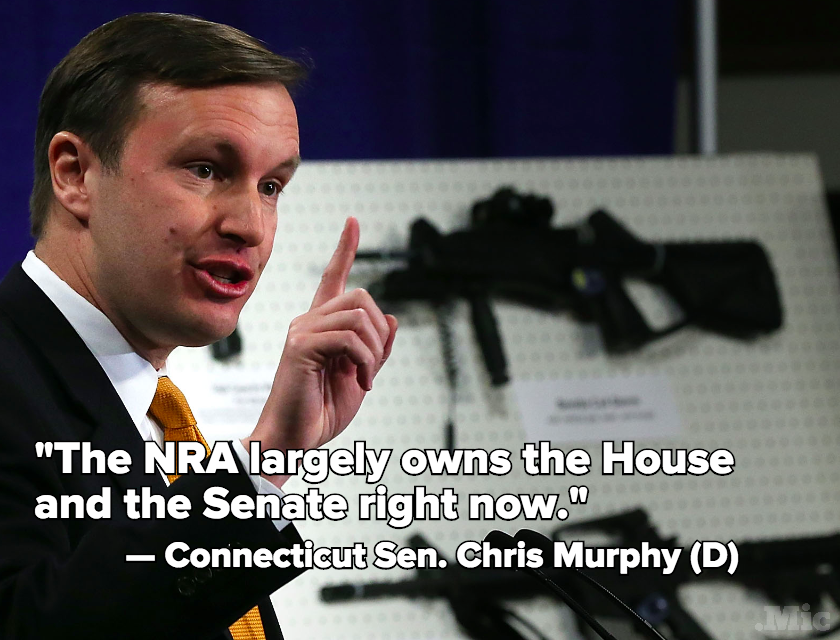 Chris Murphy's Long War: What He Says It Will Take to Tackle Gun Violence