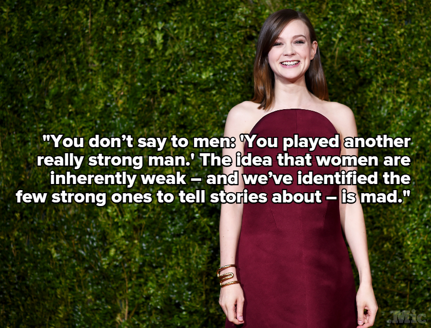 "Carey Mulligan Just Nailed the Problem With Calling Someone a ""Strong Woman"""