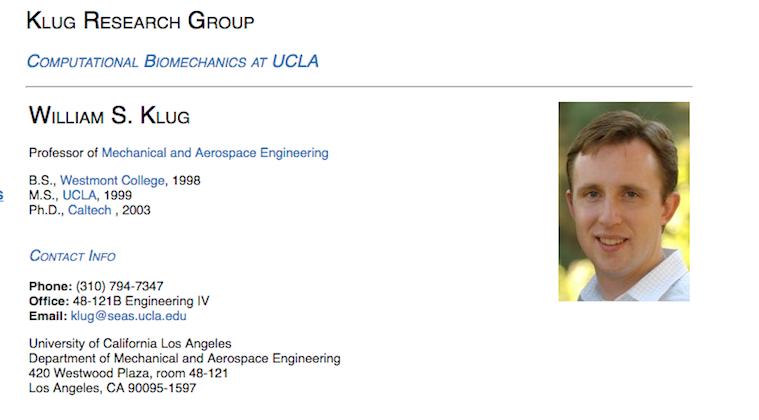 What We Know About William Klug, UCLA Engineering Professor Allegedly Killed Over Grades