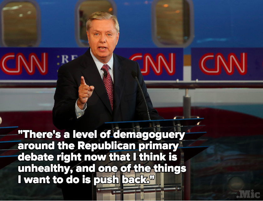 Lindsey Graham Opens Up About Trump, Sanders and How the GOP Can Win Young Voters