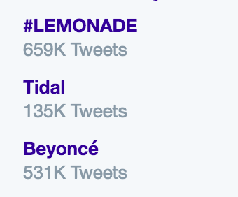 Beyoncé's 'Lemonade' Literally Broke the Entire Internet