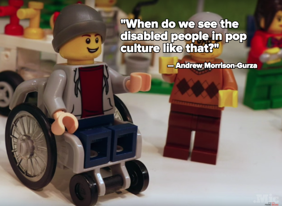 Meet Lego's First Wheelchair-Using Minifigure and His Super Sweet Beanie