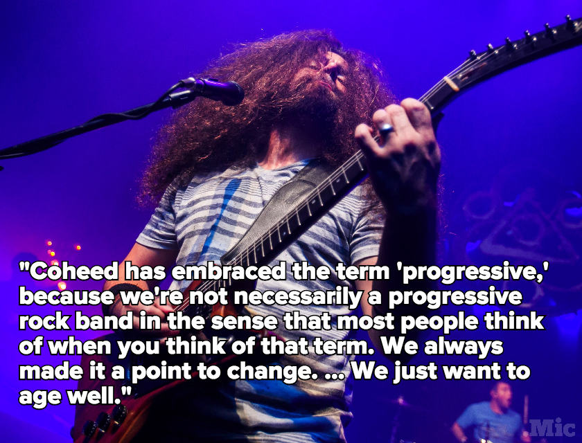 Coheed and Cambria Talk About Breaking Their Concept Album Streak and Aging Well
