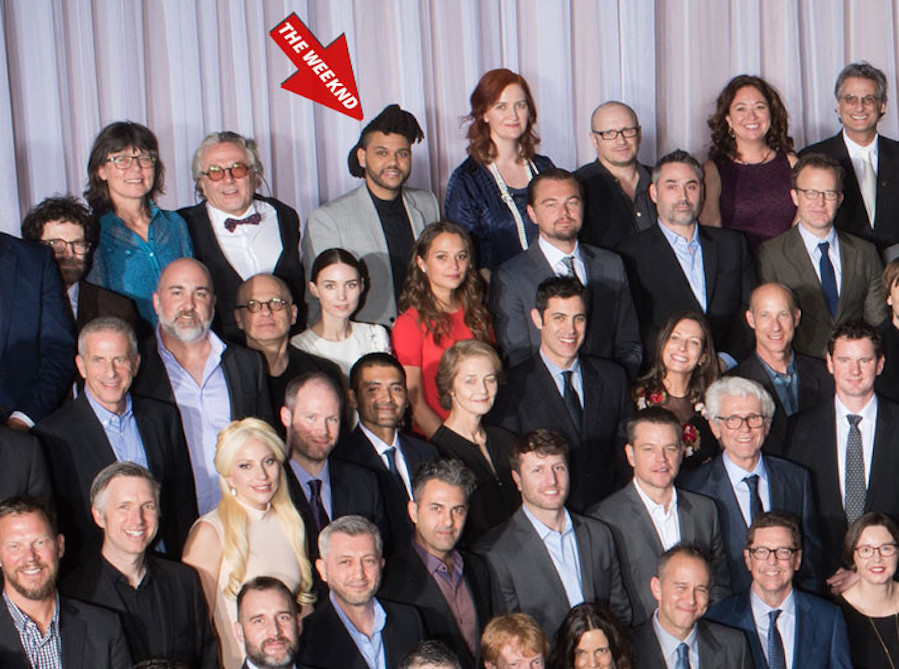 In One Photo, the Oscars Show How White They Really Are