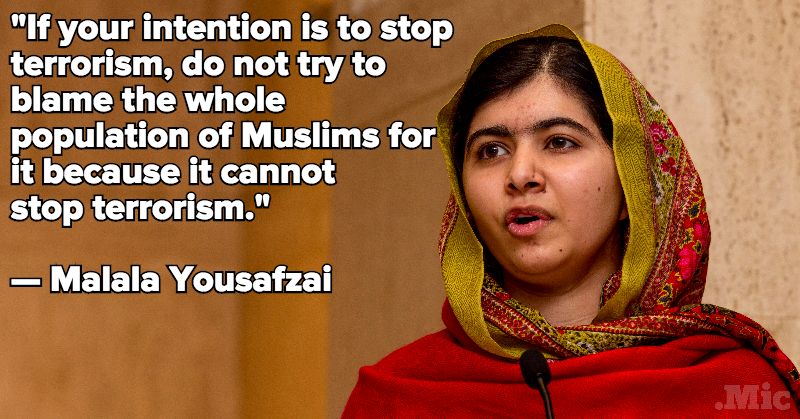 Malala Yousafzai Shut Down Donald Trump's Islamophobia in the Best Way