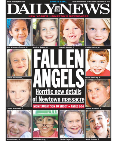 "NY Daily News Goes Hard After ""Thoughts and Prayers"" in Wake of San Bernardino Shooting"