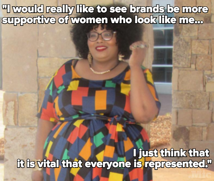 "Plus-Size Blogger Shuts Down Hater: ""You Can't Show Your Belly, But I Can Show Mine!"""