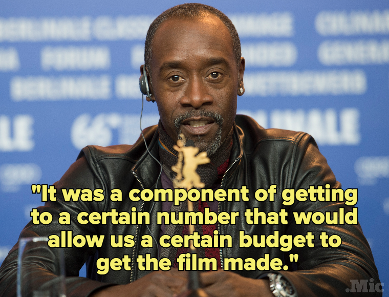Don Cheadle Had to Hire a White Co-Star to Get Investors to Pay for His Miles Davis Movie