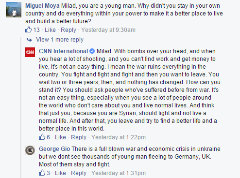 A Syrian Refugee Did a Facebook Q&A, and It Went Just as Badly as You'd Expect