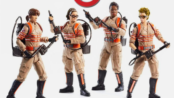 'Ghostbusters' Toys Are Popping Off the Shelves — For Both Boys and Girls