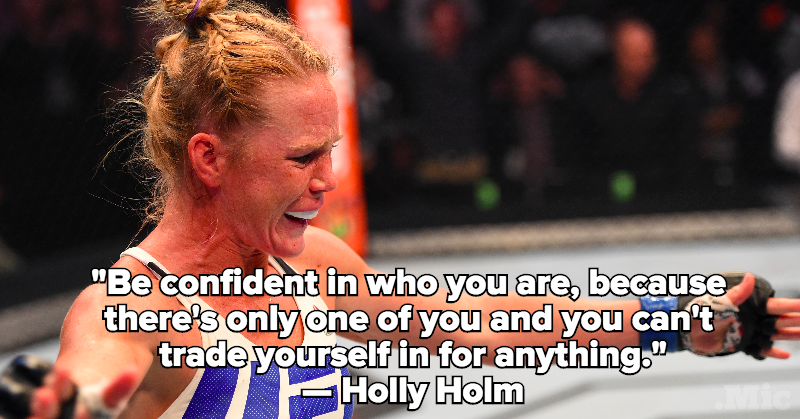 This Female UFC Fighter Has Great Advice for Athletic Girls Being Bullied