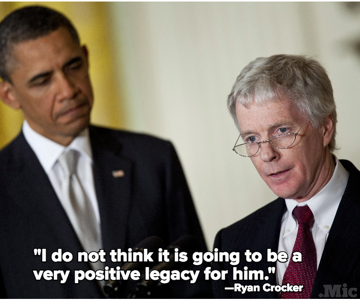"Former Obama Ambassador: Obama Will Be ""Judged Negatively"" on Foreign Policy"