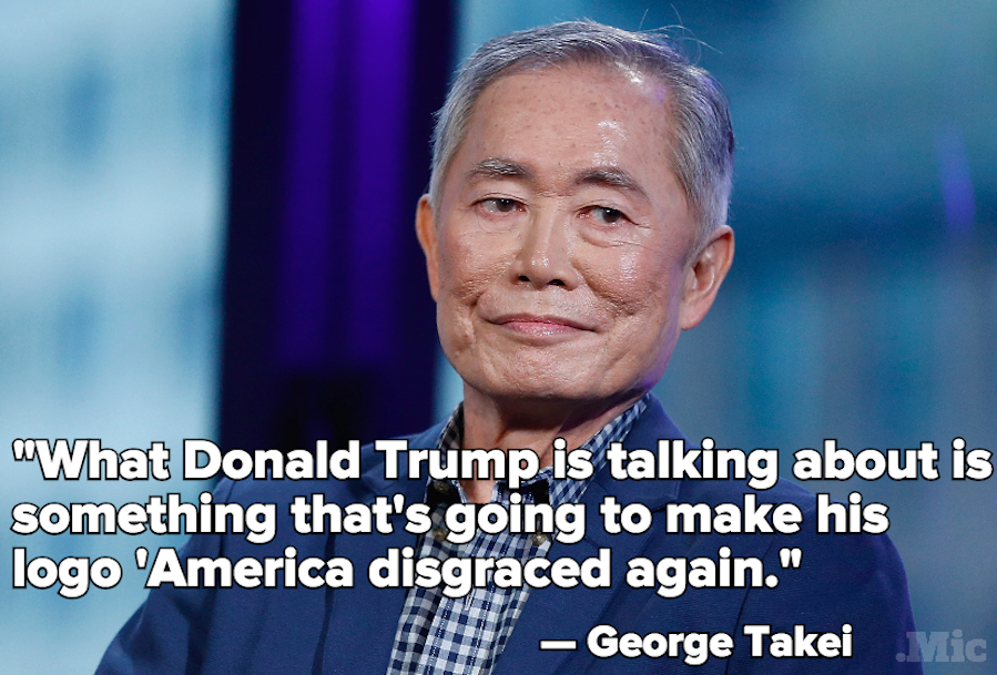 "George Takei Blasts Donald Trump on MSNBC, Calling His Campaign ""America Disgraced Again"""
