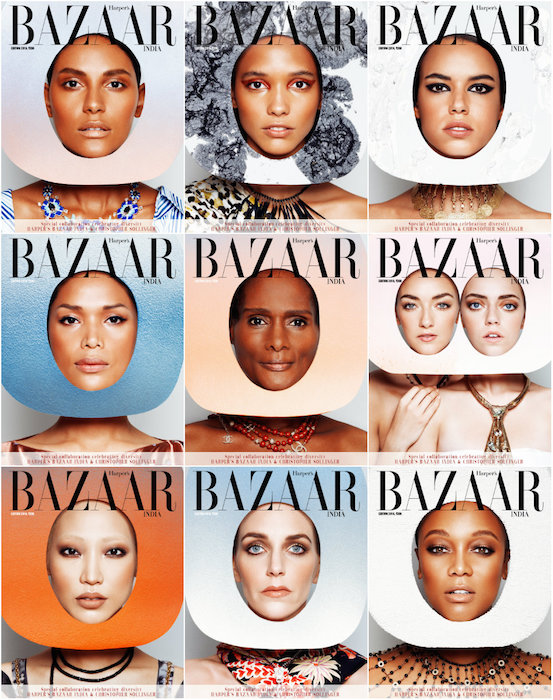 Geena Rocero and Tracy Norman are the first trans models to cover 'Harper's Bazaar'