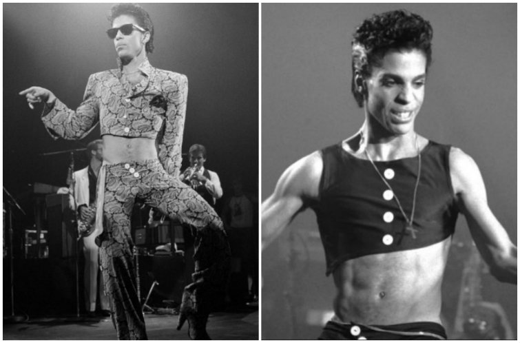 A Very Important History of Men Wearing Crop Tops