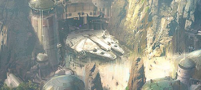 Star Wars Land: Disney Reveals Concept Art for Upcoming Disneyland Attraction