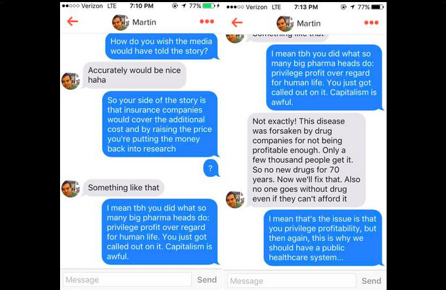 Here's What Happened When I Matched on Tinder With the Most Hated Man in America