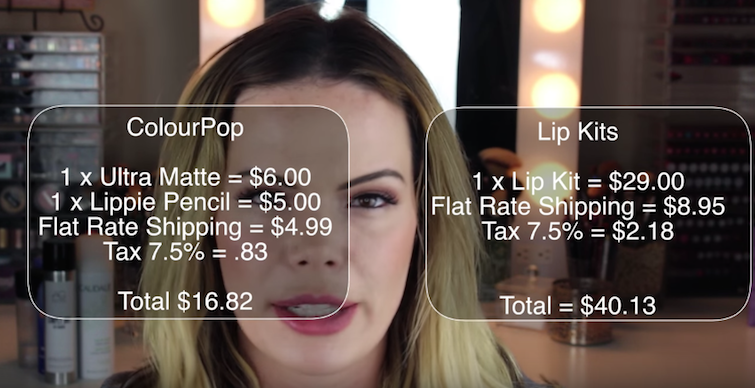 Are Kylie Jenner's Lip Kits a Toxic Money Pit? This Receipt Indicates Yes
