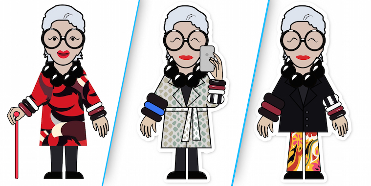 Iris Apfel Emojis Are Here — Despite the Fashion Icon Not Knowing What an Emoji Is