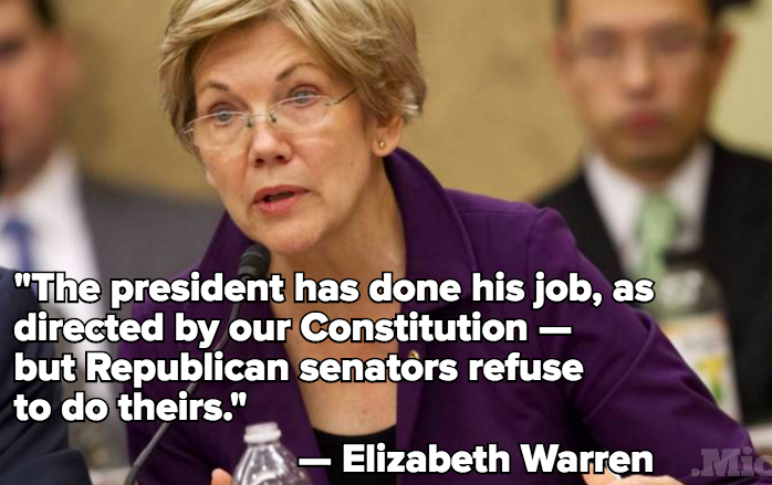 Elizabeth Warren Torches GOP in Blistering Takedown of Donald Trump and Ted Cruz
