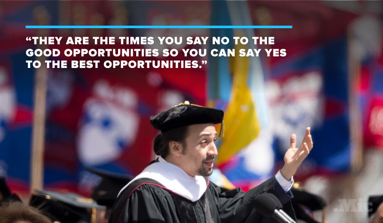 Lin-Manuel Miranda's University of Pennsylvania Commencement Speech Will Move You to Tears