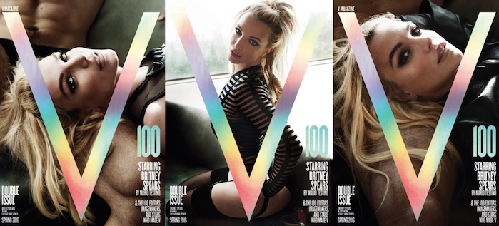 Britney Spears 'V' Magazine Photos: Twitter Doesn't Recognize Vegas Singer on New Cover