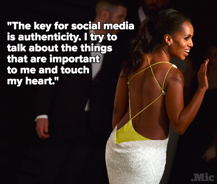 Kerry Washington Uses Her SXSW Session to Talk About Social Good on Social Media
