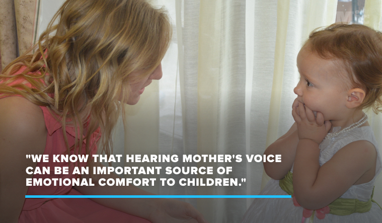 Kids' Brains Do Wild Things When They Hear Mom's Voice