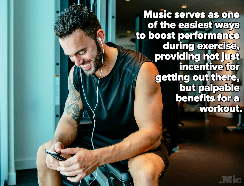 Here's Why You Should Listen to Music, Not Watch TV, While Exercising