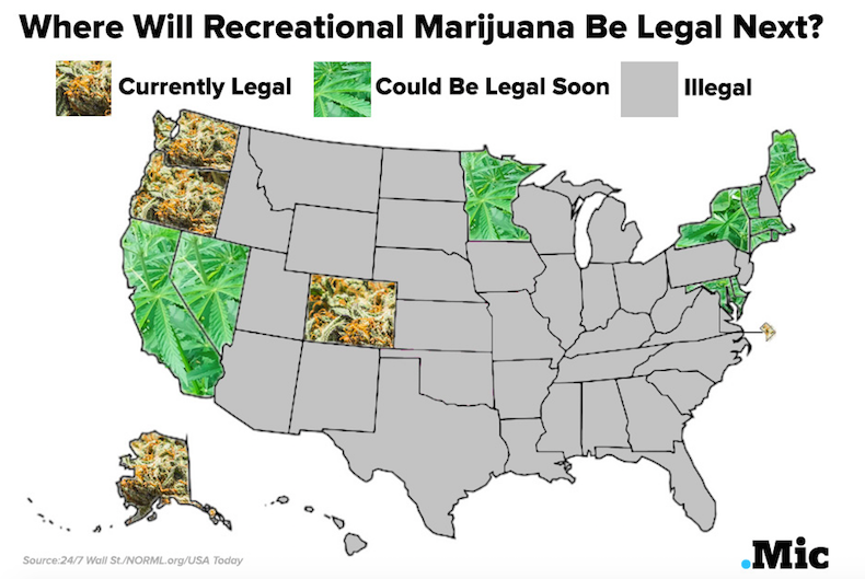 an introduction to the legalization of marijuana in california California is one of the nine states where recreational marijuana is legal  set for introduction on 4/20, the unofficial day celebrating marijuana use and the culture surrounding it, would.