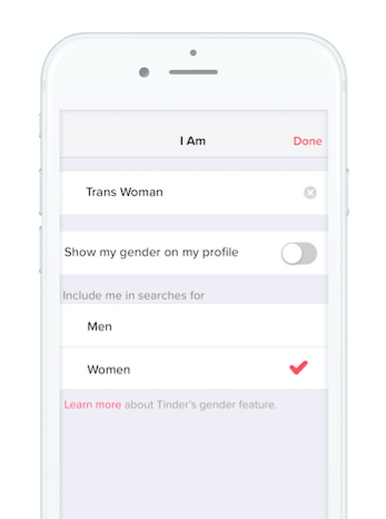 Tinder just announced a major update that will make the app way, way more trans-friendly