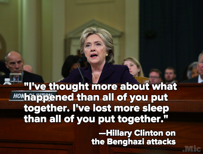 Hillary Clinton Holds Her Own in Marathon Testimony Before Benghazi Committee