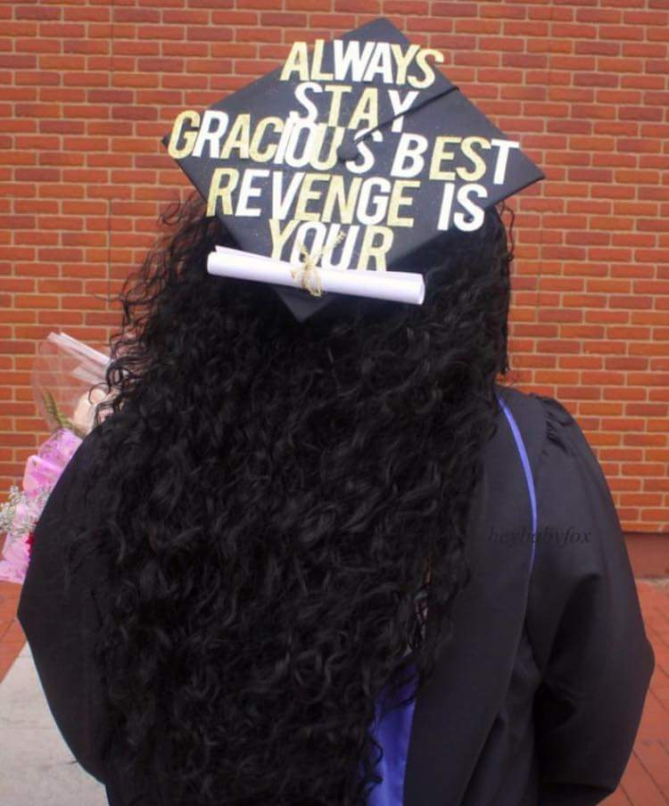 16 Graduation Caps From Black Students That Will Make You Proud, Laugh and SMH