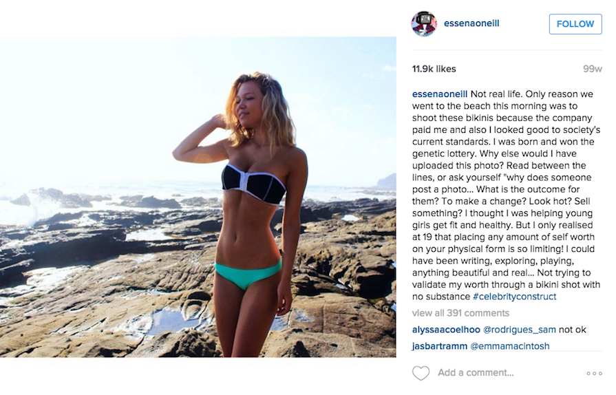 "This Instagram Star Is Deleting Thousands of Photos to Prove ""Nothing You See Is Real"""