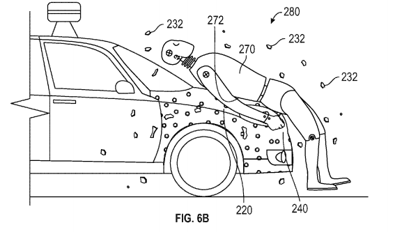 Google's Self-Driving Cars Might Have Glue on the Hood to Trap People You Run Over