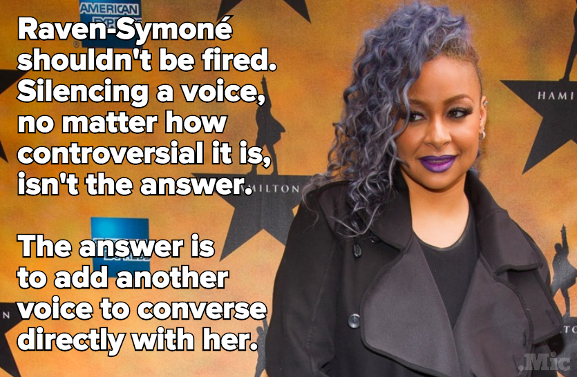 Raven-Symoné Ate Chick-Fil-A on 'The View' — But She Still Shouldn't Be Fired