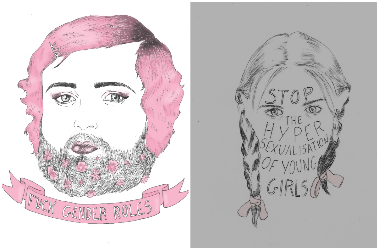"This Artist Has an Epic Response to People Who Call Her ""Girly"""