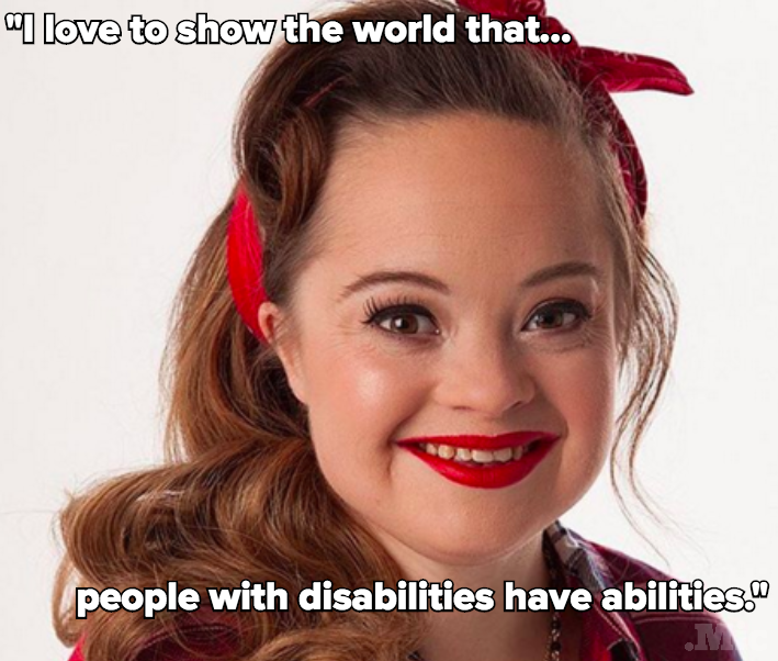 What the First Model with Down Syndrome in a Beauty Campaign Wants You to Know