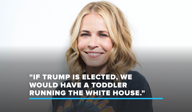 "Chelsea Handler Thinks President Trump Would Be Like ""a Toddler Running the White House"""